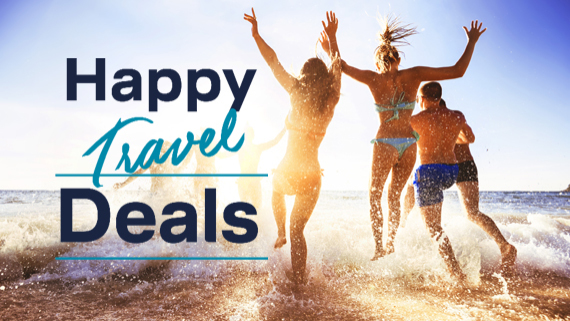 Mit den Happy Travel Deals von LCC sparen